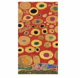 Paper Hand Towels Klimt Red