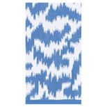 Paper Hand Towels Moire Blue