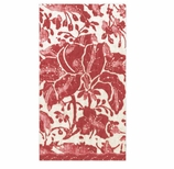 Paper Hand Towels Rustic Red
