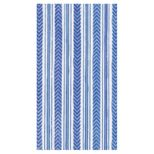 Paper Hand Towels Stripe Blue