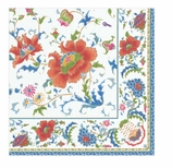 Paper Napkins Lunch Holiday Blue