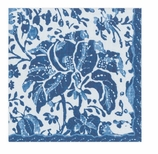 Paper Napkins Lunch Rustic Blue