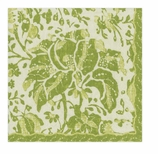 Paper Napkins Lunch Rustic Green