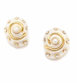 Shell Earrings Pearl