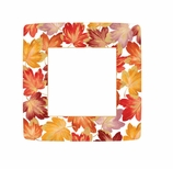Thanksgiving Paper Plates Lunch Fall Decor