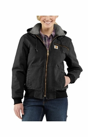 96470c2df9 Carhartt Womens Weathered Duck Wildwood jacket - sherpa lined