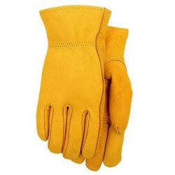 Midwest Glove #675 Deerskin Leather Work Gloves