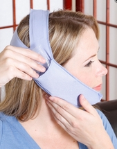 Cool Jaw Soft Stretch Face Wrap for Wisdom Teeth -TMJ - Jaw Surgery