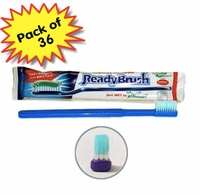 ReadyBrush Pre-Pasted Toothbrush - 36 Pack
