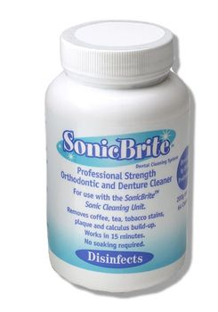 SonicBrite Retainer & Mouth Guard Cleaning Powder Refill