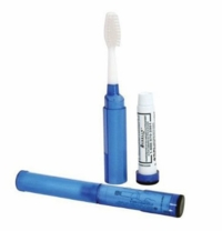 Toob Brush Travel Toothbrush - Fill with Your Own Toothpaste