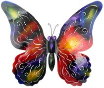 3D Metal Butterfly - Extra Large