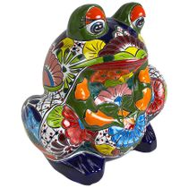 Extra Large Talavera Frog Planter Pot
