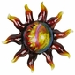 "Extra Small Metal Southwest Sun Wall Art - 11"" Dia."