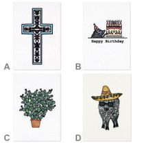 Illustrated Southwest Note Cards - Thank You - Birthday Cards