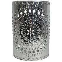 Mexican Natural Punched Tin Wall Sconce Light Cover