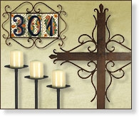 Rustic Wrought Iron Accessories