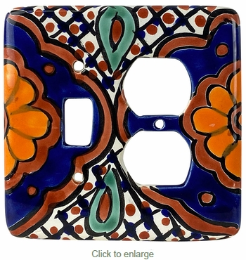 Talavera Switch & Outlet Plate