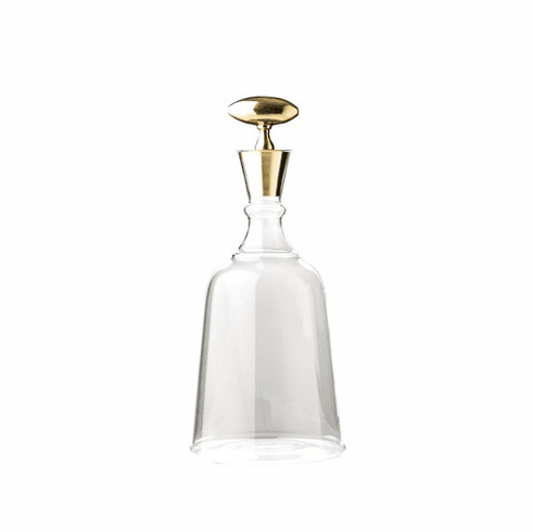 Abigails Chalet Large Decanter with Brass Stopper