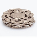Abigails Silver Coasters (Set of 8)