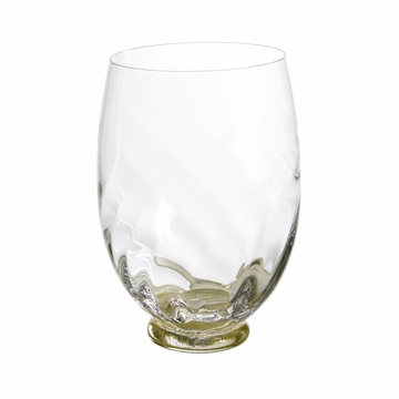 Abigails Elisa Gold Wine Glass (Set of 4)