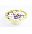 Abigails Fiori Serving Plate on Stand / Cake Plate Camellia
