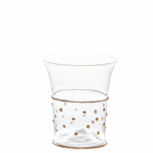 Abigails Gatsby Tumbler with Gold Dots (Set of 4)