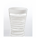 Abigails Isola Double Old Fashioned Whiter Rim & Spiral (Set of 4)