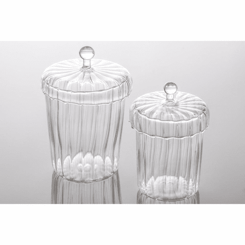 Abigails La Boheme Apothecary Jars w/ Optic (Set of 4)
