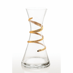 Abigails Lionshead Carafe with Gold Rope (Set of 2)