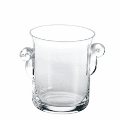 Abigails Loft Glass Ice Bucket with Handles