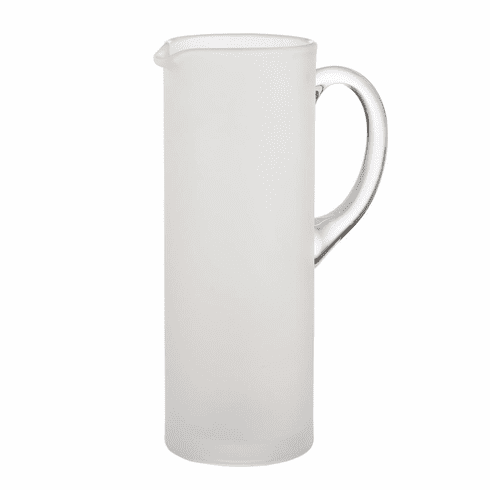 Abigails Martini Pitcher with Stirrer Frosted (Set of 2)