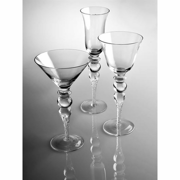Abigails Sofia Tall Martini Glass (Set of 4)