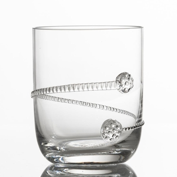 Abigails Medallion Stemless Cocktail (Set of 4)