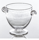 Abigails St Remy Bubble Glass Ice Bucket with Handles (Set of 2)