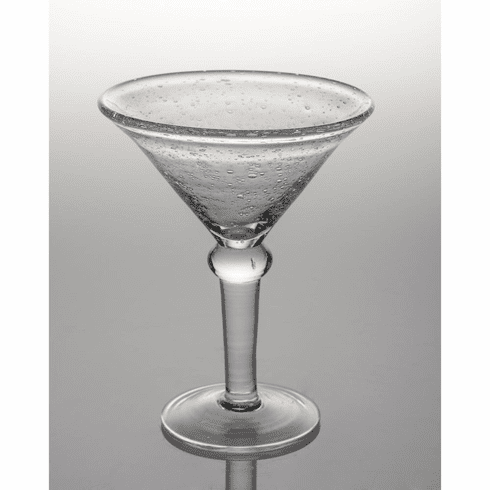 Abigails St. Remy Bubble Glass Martini Glass (Set of 4)