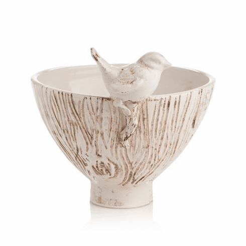 Abigails Uccello Bowl with Bird