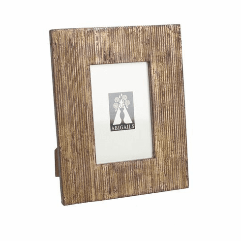 Abigails Vendome Frame with Ridged Wood (Set of 2)