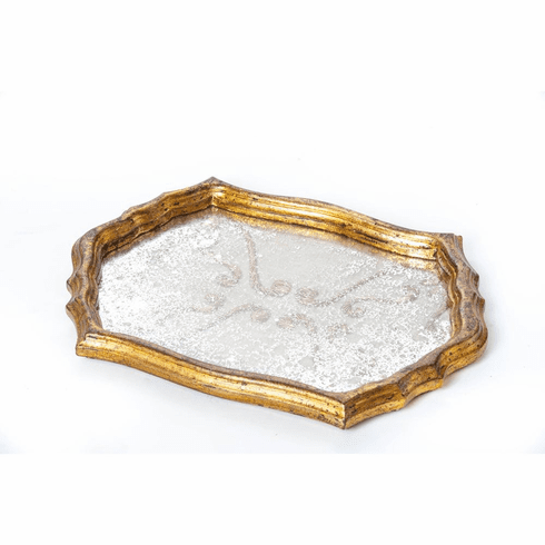 Abigails Vendome Vanity Tray with Fabric Design
