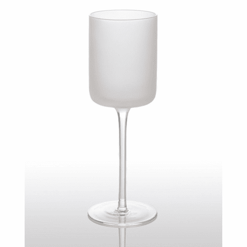 Abigails White Night Frosted Water Glass (Set of 4)