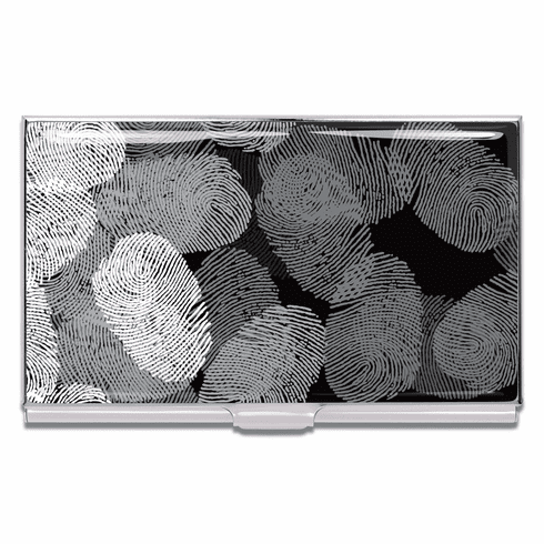 ACME Fingerprints Business Card Case