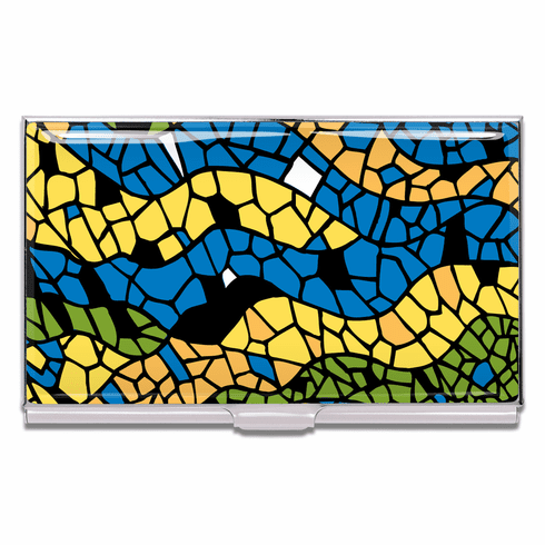 ACME Mosaic Business Card Case