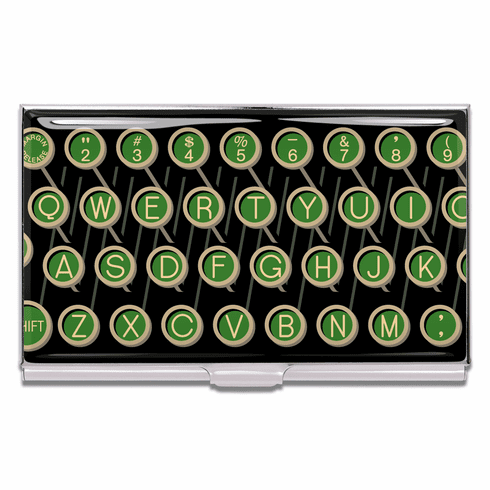 ACME Qwerty Business Card Case