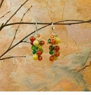Ali & Bird Tomato and Citrus Earrings