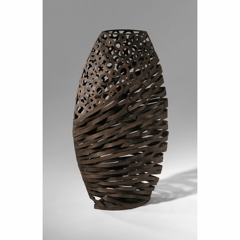 Alicia Iron Wire Vase by Cyan Design