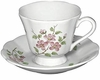 Andrea by Sadek Apple Blossom Cup & Saucers (Set of 4)
