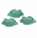 "Andrea by Sadek Turquoise 5"" Sea Turtle Dish (Sold Individually)"