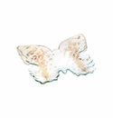 Annieglass 12X10 Butterfly Tray Gold