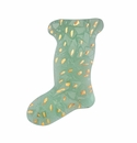 Annieglass Elements 12X8 Holiday Stocking - Gold