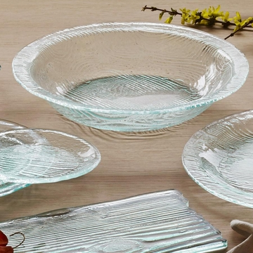 Annieglass Grove 15'' Large Serving Bowl